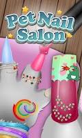 Screenshot of Pets Nail Salon - kids games