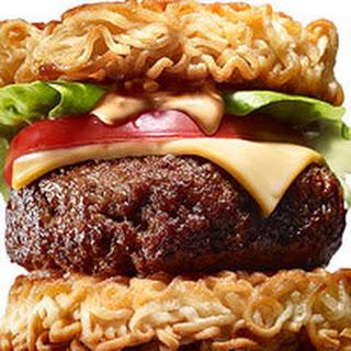 Ramen Cheeseburgers
