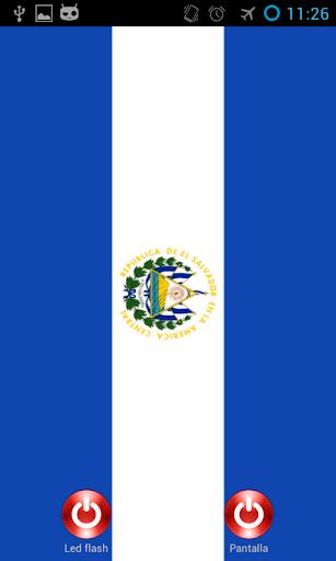 Linterna flash led El Salvador
