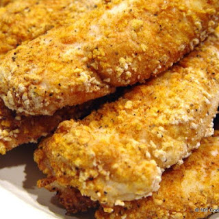 Spicy Baked Chicken Strips