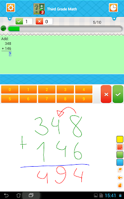 Third Grade Math - screenshot