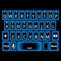 Blue Glow Keyboard Skin icon