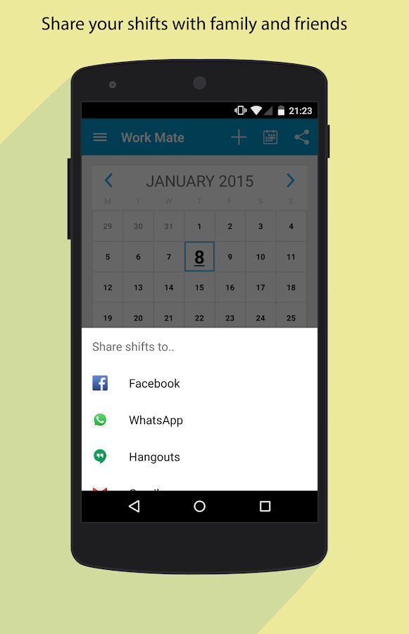 Work Mate - Shift Tracker - screenshot
