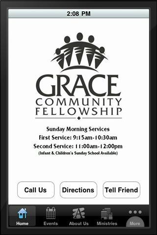 Grace Community Fellowship - screenshot