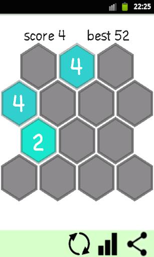 Puzzle 2048 HEX de