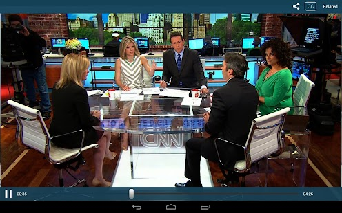 CNN App for Android - screenshot thumbnail