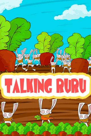 Talking Rabbit Ruru - free - screenshot
