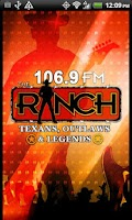 Screenshot of 106.9 The Ranch