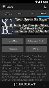 Sovereign Grace Baptist Church - screenshot thumbnail