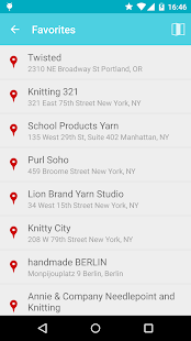 Knitmap - Yarn Store Finder- screenshot thumbnail