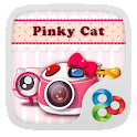 Pinky Cat GO Launcher Theme icon