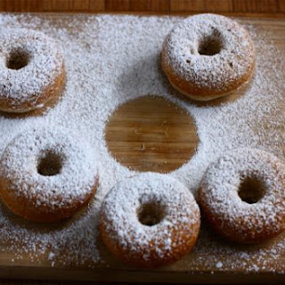 Baked Spice Doughnuts.