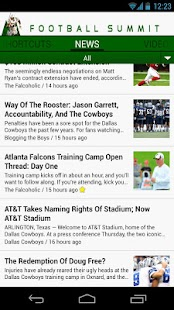 Football Summit: NFL News