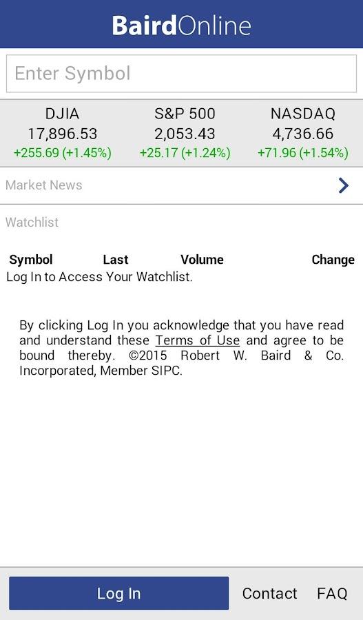 Baird Online - screenshot