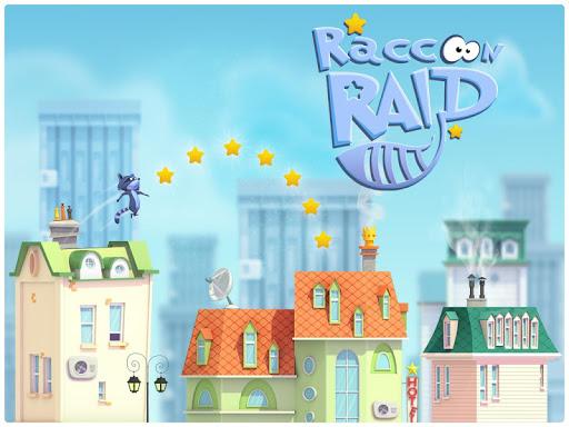Raccoon Raid-City Jumper Game