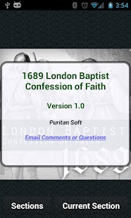 1689 London Baptist Confession- screenshot thumbnail