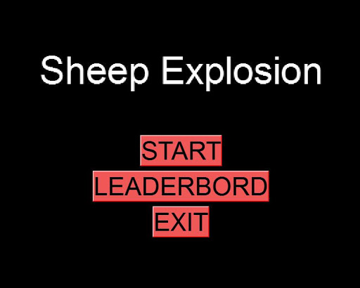 Sheep explosion