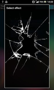 Crack Screen Live Wallpaper - screenshot thumbnail