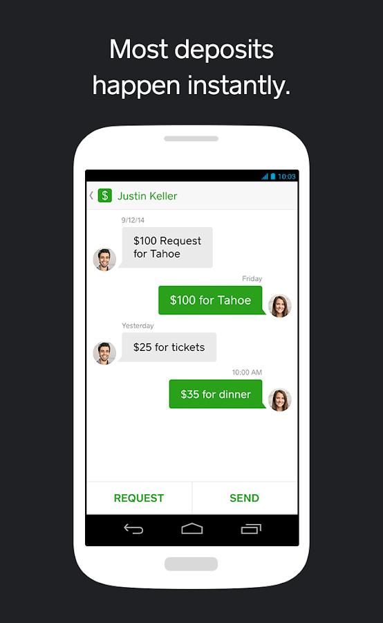Square Cash - screenshot