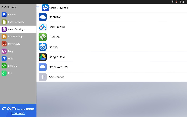 CAD Pockets- screenshot