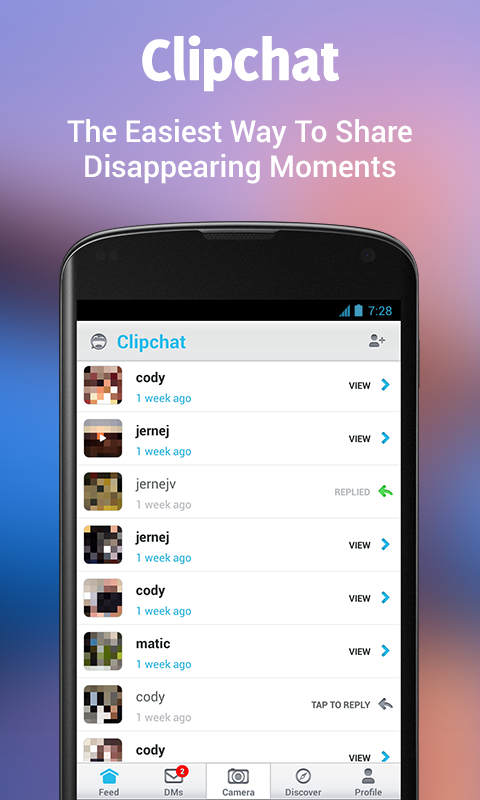 Clipchat - screenshot