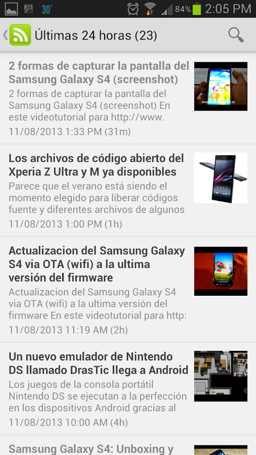 Notidroid - Noticias Android- screenshot