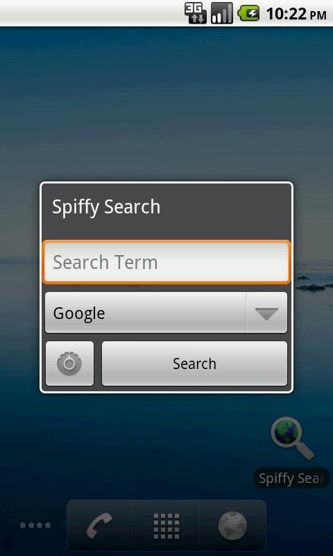 Spiffy Search- screenshot