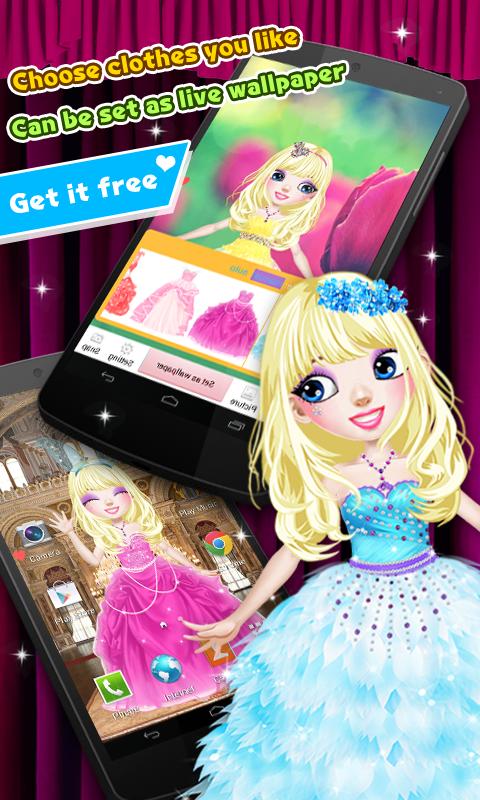 Princess Live Wallpaper - Apl Android di Google Play