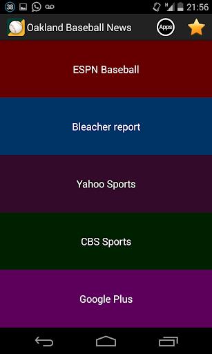 Oakland Baseball News