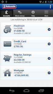 Nationwide Mobile Banking - screenshot thumbnail