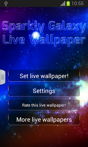 玩個人化App|Live Wallpaper Galaxy免費|APP試玩