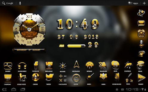 3D byzanz GO Locker theme - screenshot thumbnail