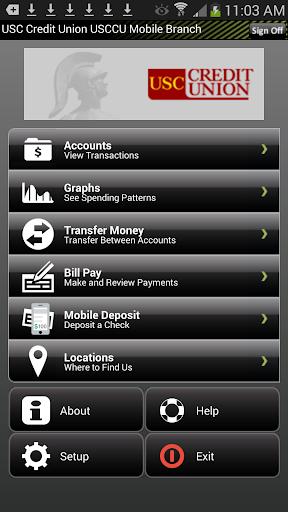 USC Credit Union Mobile Branch
