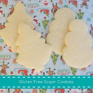 Easy Gluten Free Sugar Cookies