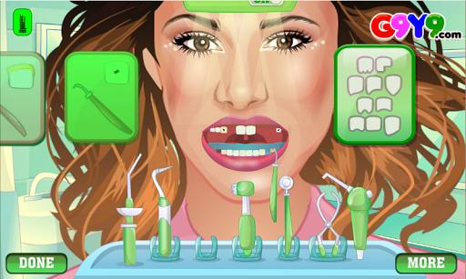 仮想ガール歯医者手術
