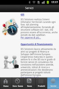 IES Solutions mobile - screenshot thumbnail