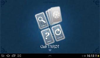 Screenshot of Club TAROT