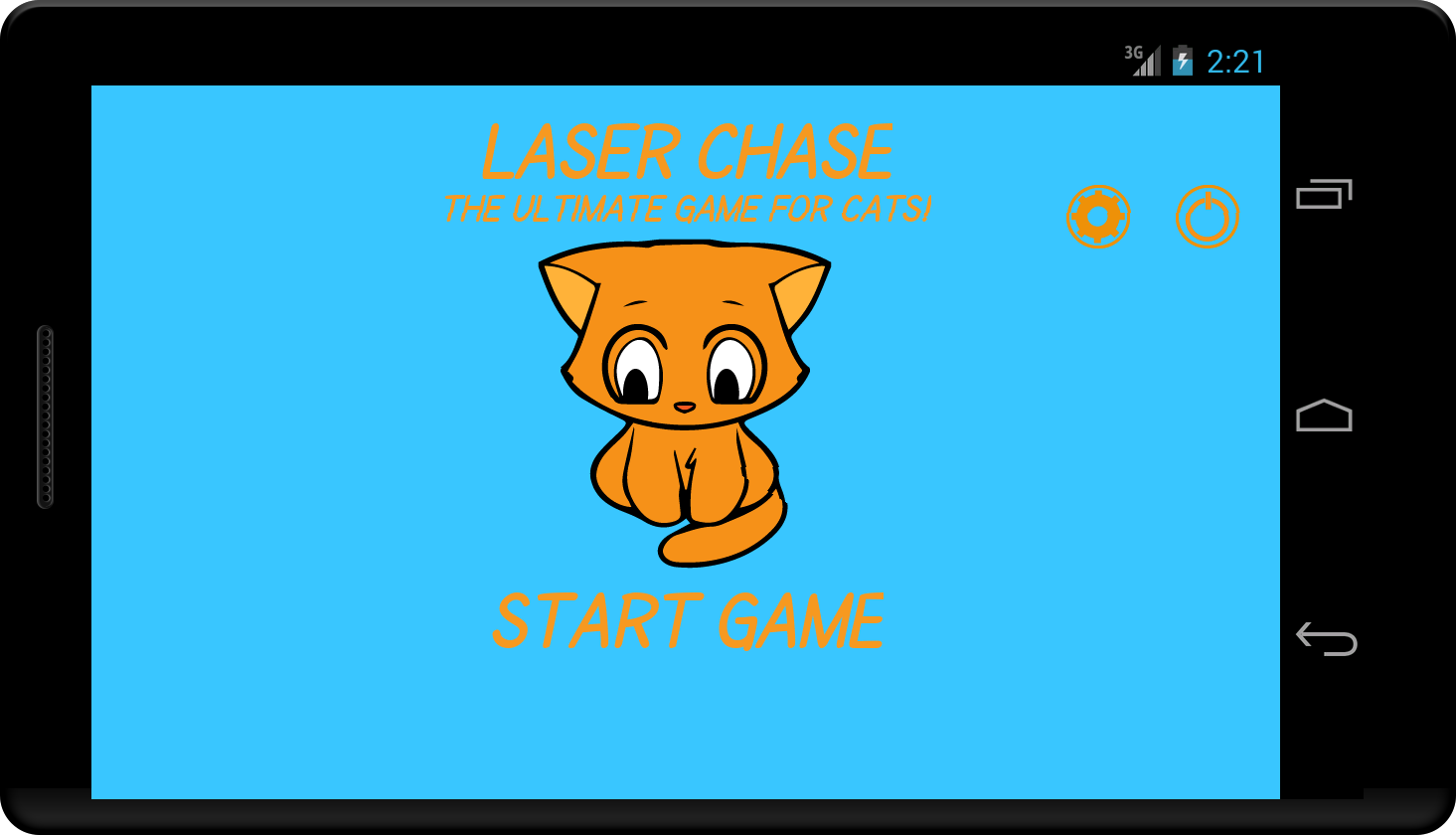 Laser Chase - A Game for Cats!- screenshot