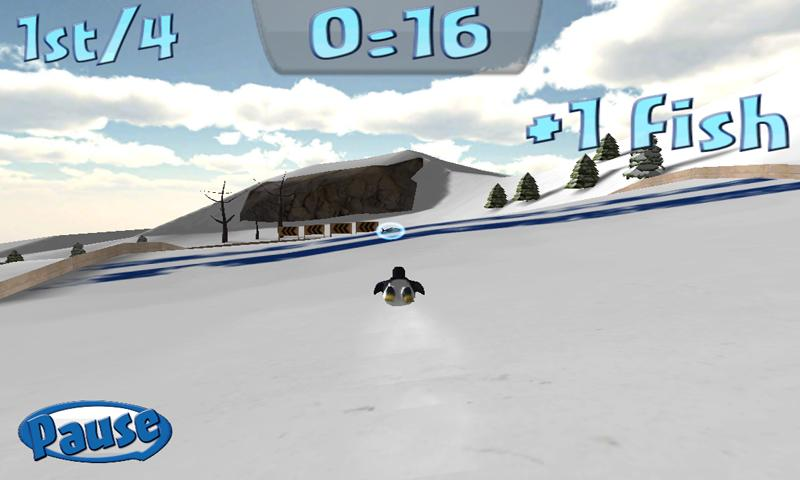 Penguin Snowcap Challenge- screenshot