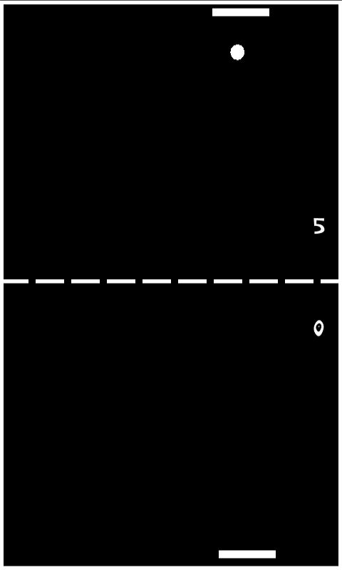 Classic Pong - screenshot