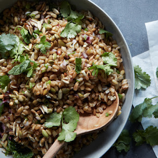 Thai-Style Grain Salad with Crunchy Seeds