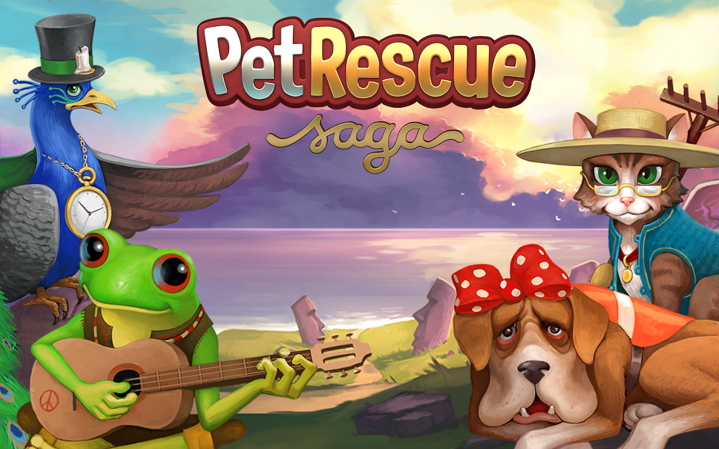Pet Rescue Saga - screenshot
