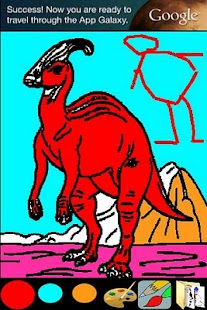 Coloring for Kids - Dinosaur- screenshot thumbnail
