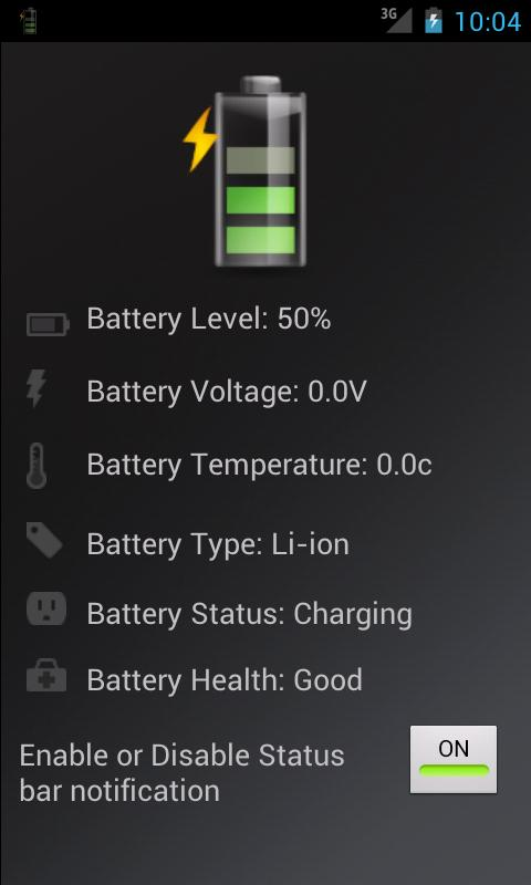 Battery Pro Info - screenshot