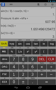 Scientific Calculator - FREE - screenshot thumbnail