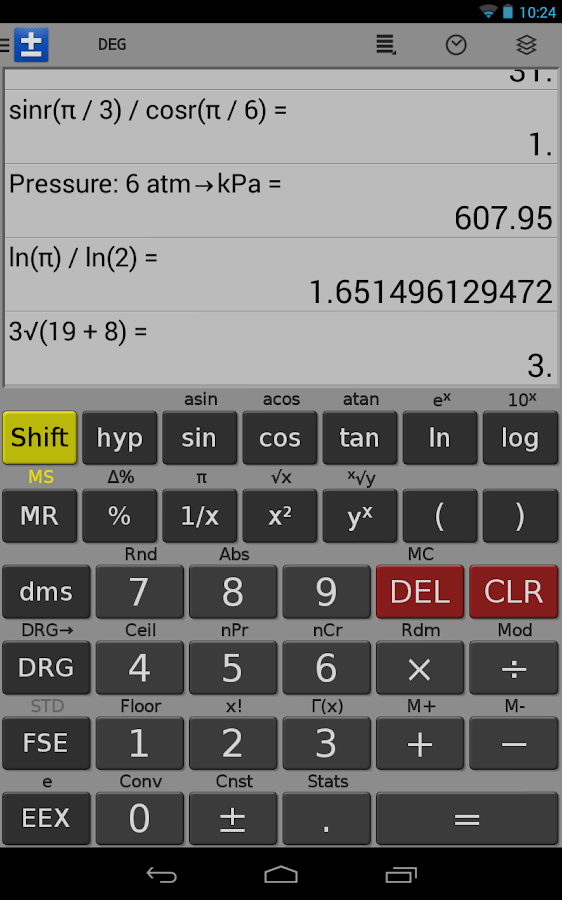 Scientific Calculator - FREE - screenshot