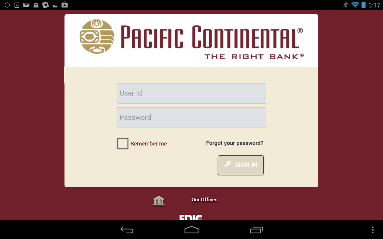 PCB Mobile Banking - screenshot
