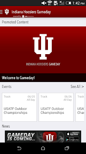 Indiana Hoosiers Gameday LIVE - screenshot thumbnail