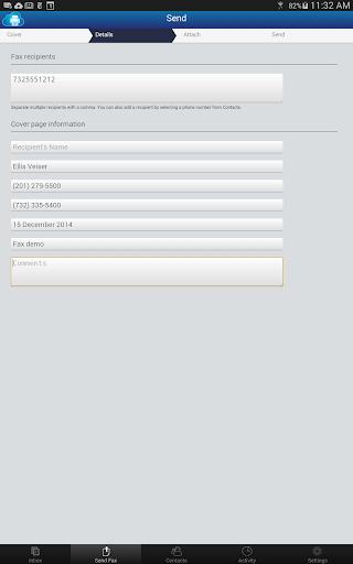 uFax - Online Fax in the Cloud Aplikace (apk) ke stažení zdarma pro Android/PC/Windows screenshot