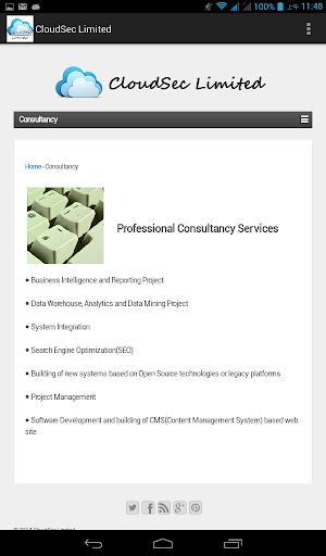 【免費商業App】CloudSec Limited-APP點子